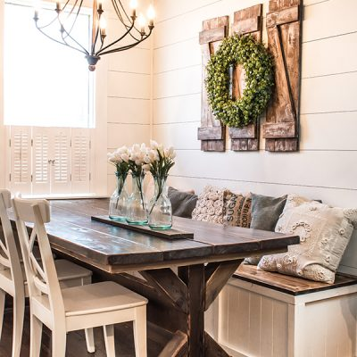 How to Build Simple and Inexpensive Rustic Shutters
