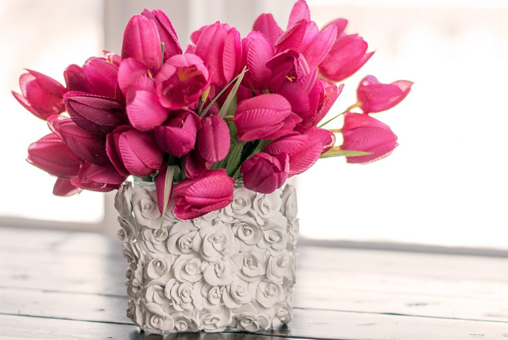 How To Make Beautiful Clay Craft Flower Vases With This Simple Method