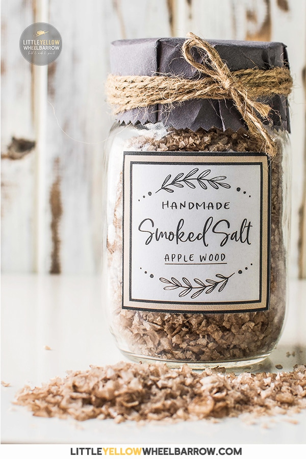 Make a batch of smoked salt and have that fire roasted flavor in a pinch! The best part? How to smoke salt is as easy as putting wood on a fire.