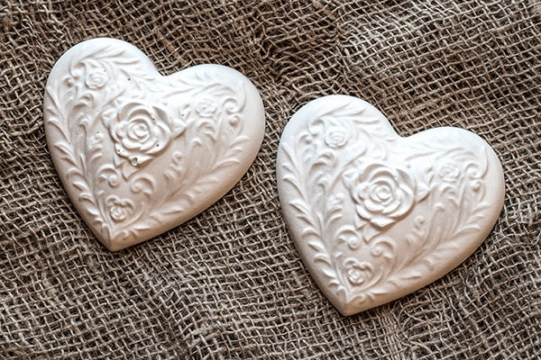 Plaster Casted Hearts
