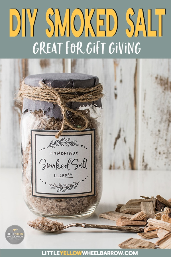 Make a batch of smoked salt and add a pinch of fire roasted flavor to anything you want.  These jars of smoked salts make great hostess/ host gifts or holiday gift for any foodie on your list.  See what salts work best and what kinds of wood you should use to make the best batch.